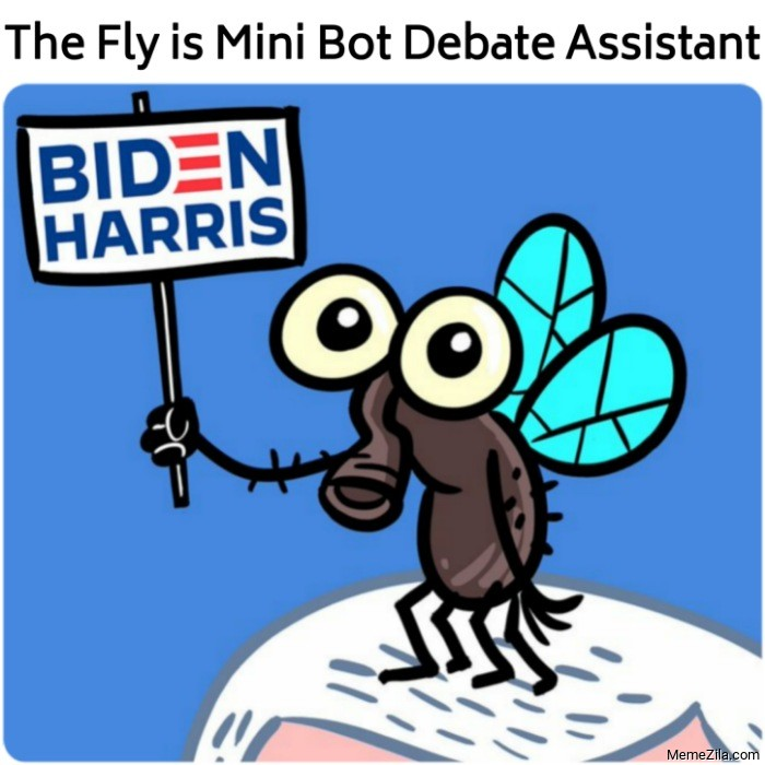 The fly is mini bot debate assistant meme
