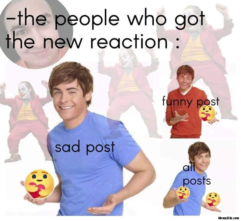 The people who got the new care reaction meme