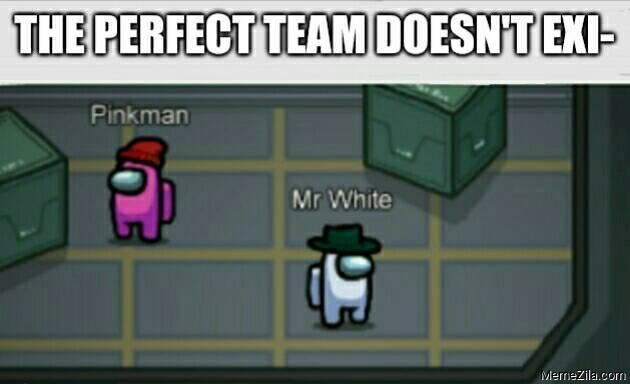 The perfect team doesnt exist Pinkman Mr White meme
