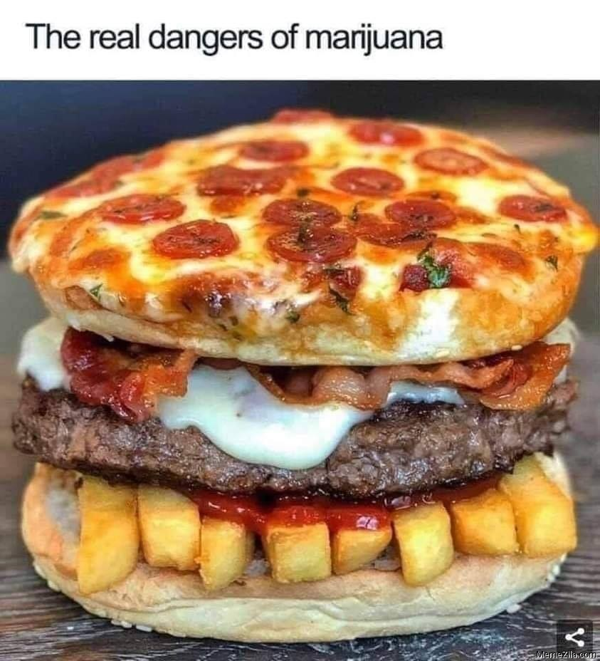 The real dangers of marijuana meme