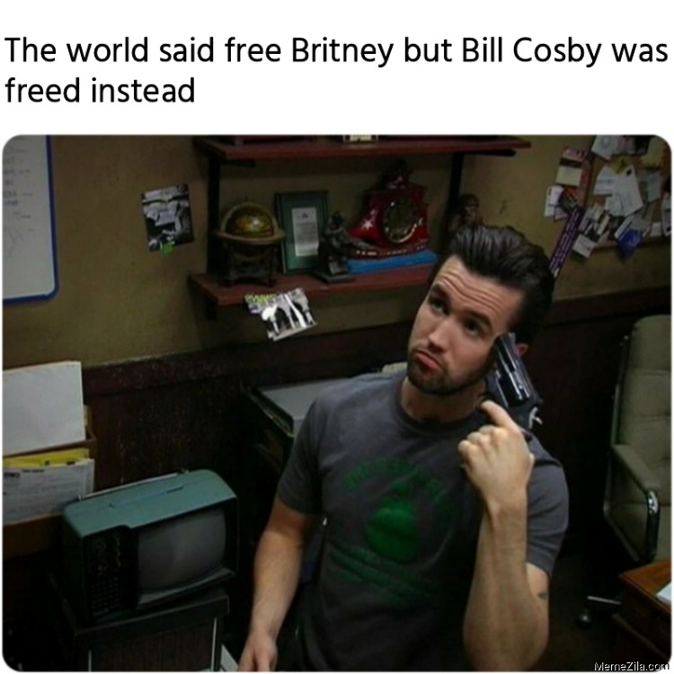 The world said free Britney but Bill Cosby was freed instead