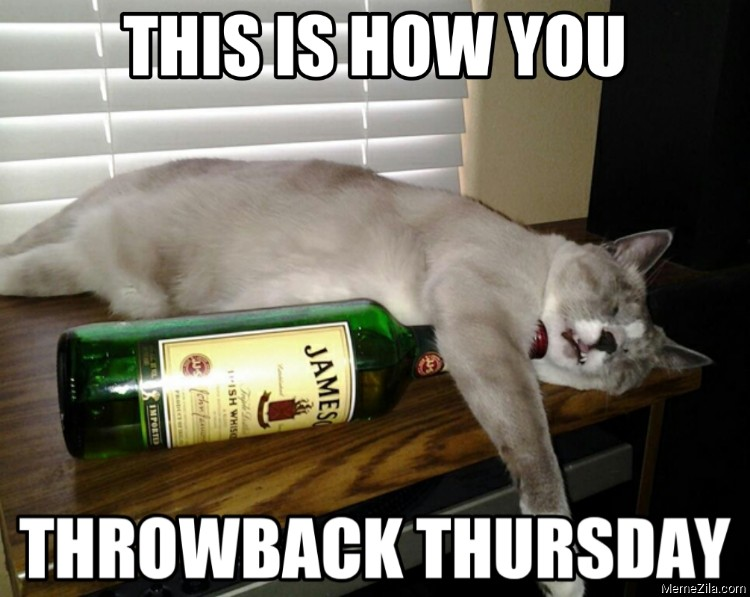 This is how you throwback thursday meme