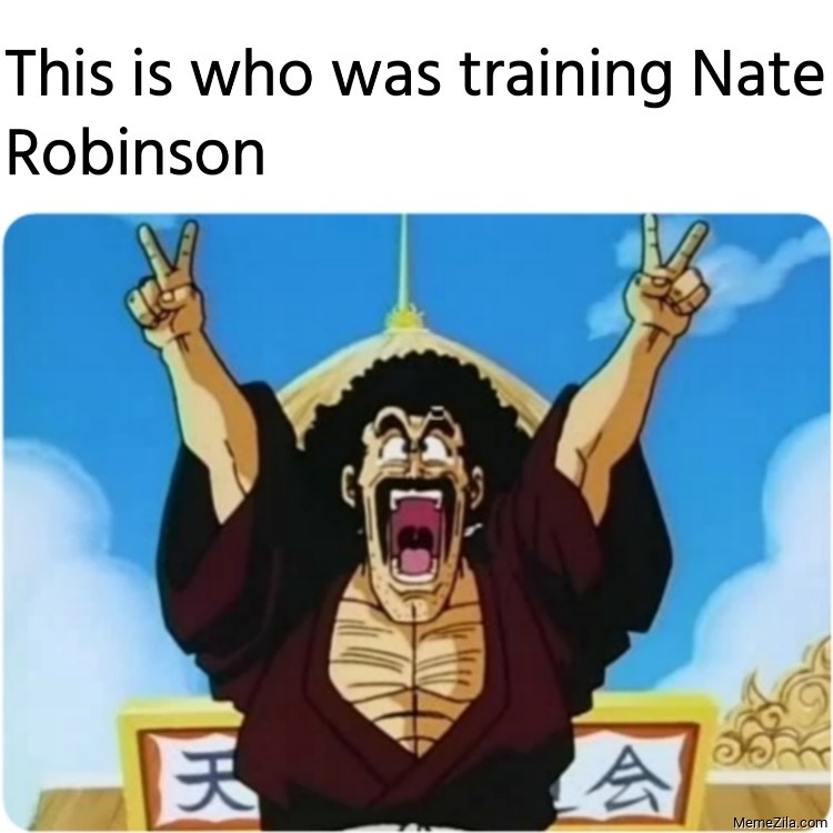 This is who was training Nate Robinson meme