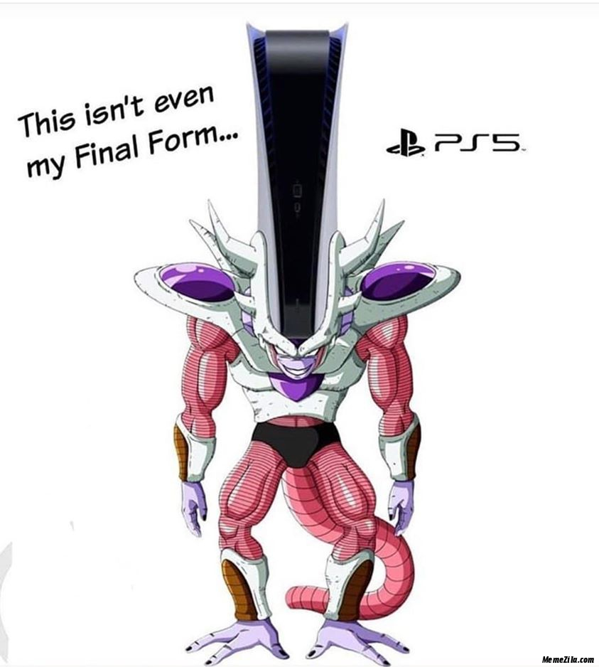 This isnt even my final form meme