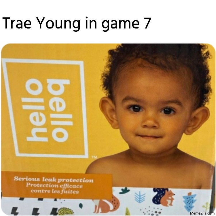 Trae Young in game 7 meme