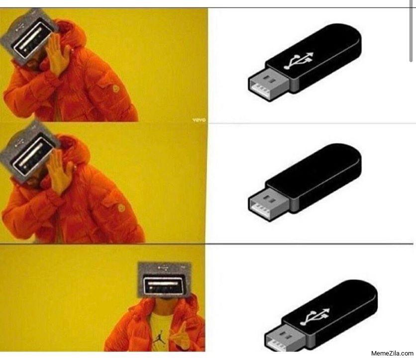 Usb drake meme
