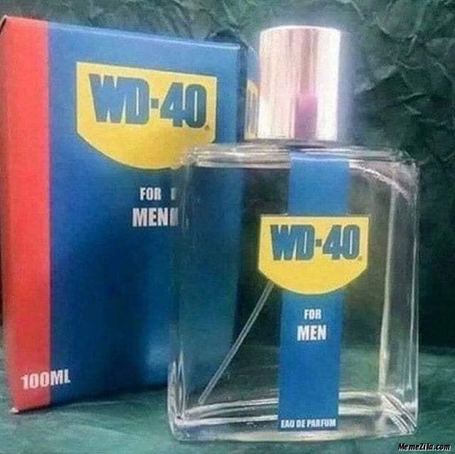 WD-40 for men meme