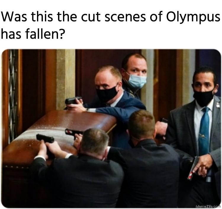 Was this the cut scenes of olympus has fallen meme