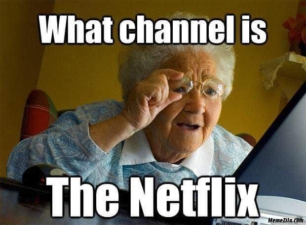 What channel is the netflix meme
