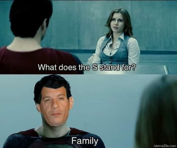 What does the S stands for Family meme