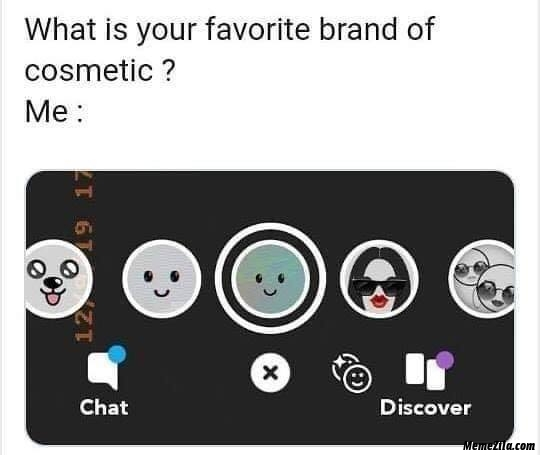 What is your favourite brand of cosmetic meme