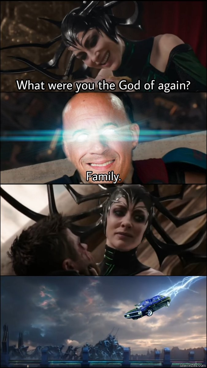 What were you the god of again family meme