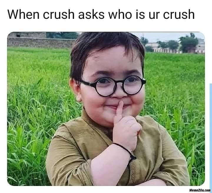 When you see your crush sharing breakup quotes meme
