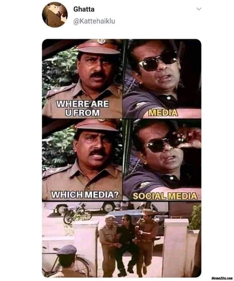 Where are you from Media Which media Social media meme