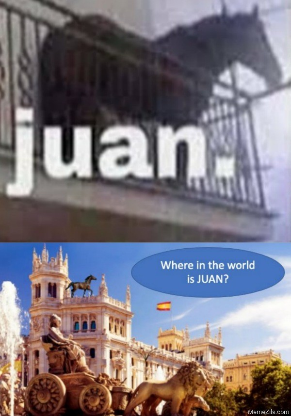 Where in the world is juan meme