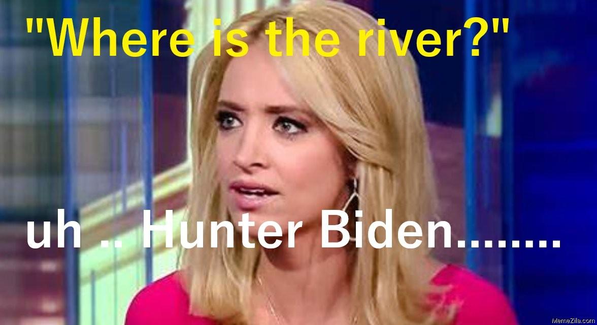 Where is the river Uh Hunter Biden meme