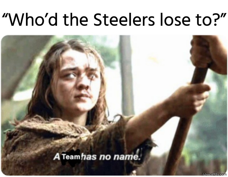 Who had the Steelers lose to meme
