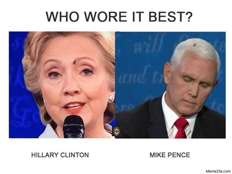 Who wore it best meme