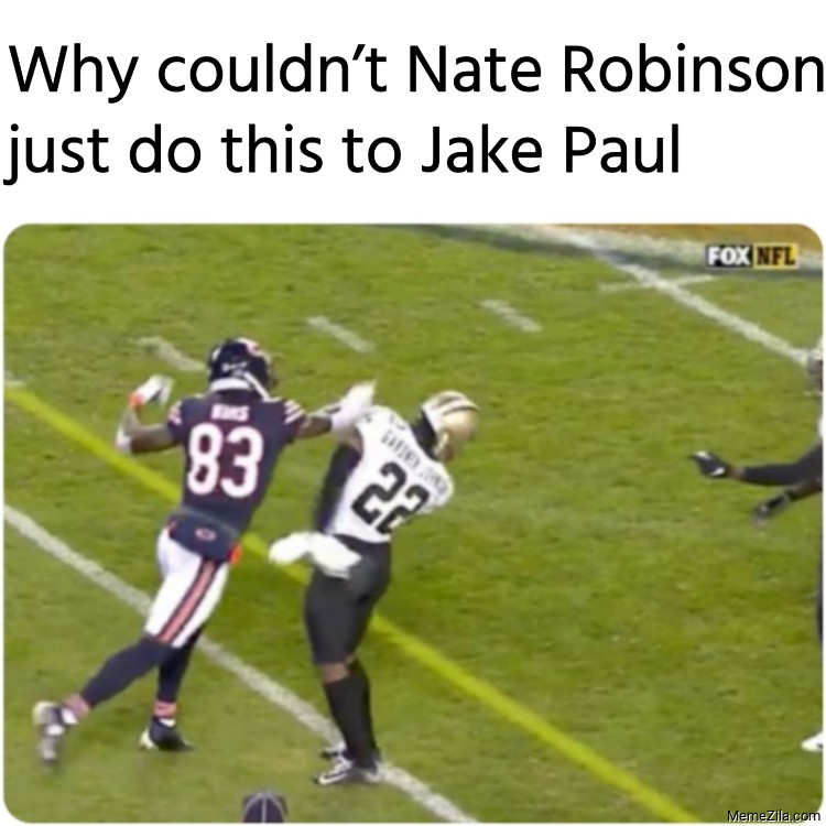 Why couldnt Nate Robinson just do this to Jake Paul meme