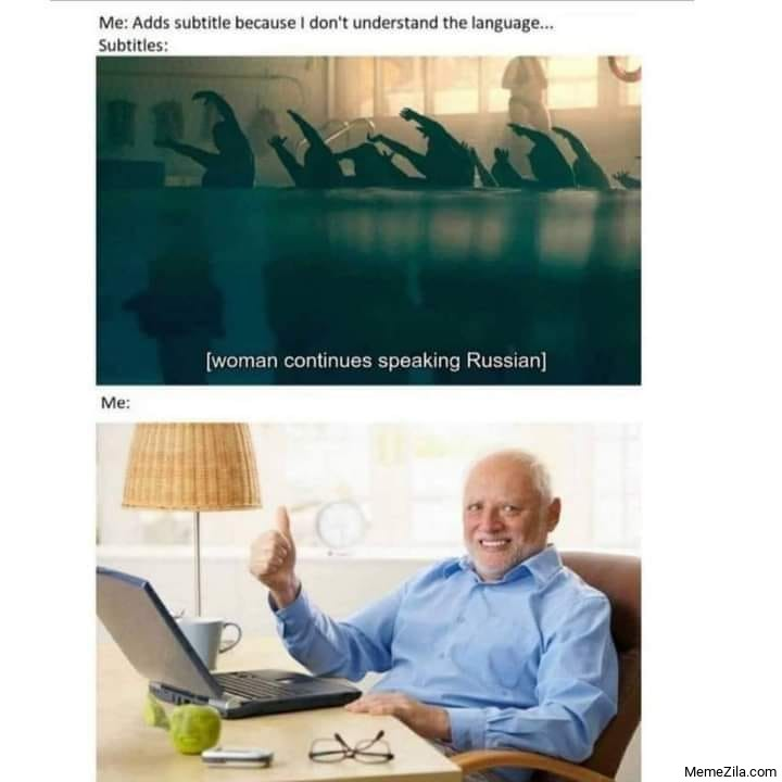 Women continuous speaking Russian meme