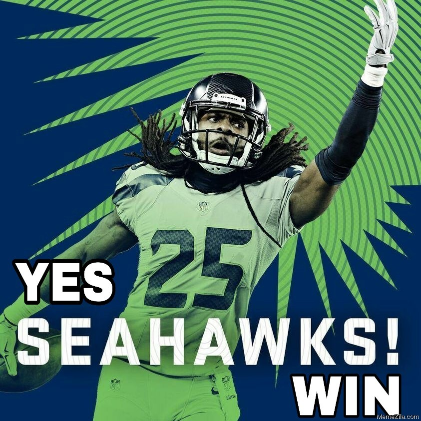 Yes Seahawks win meme