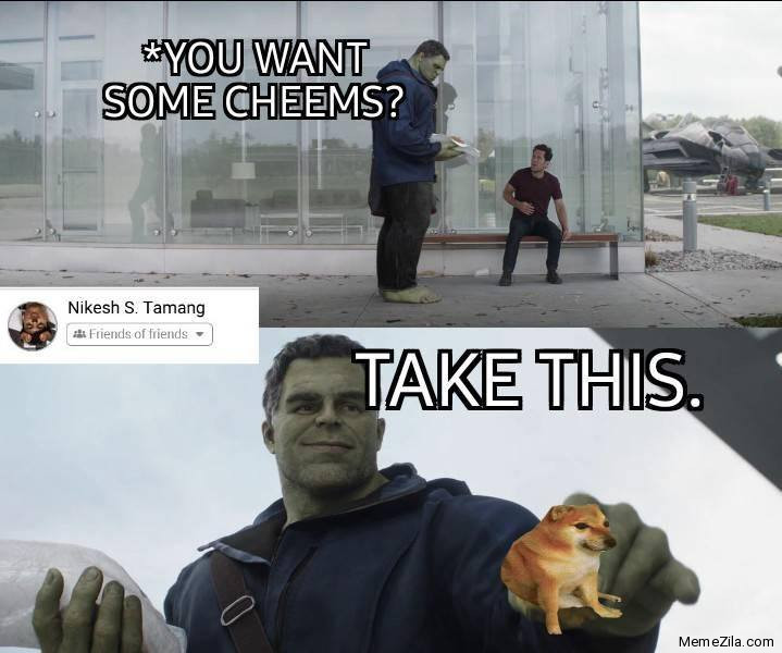 You want some cheems Take this meme